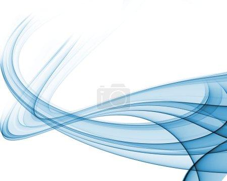 Photo pour Séries de compositions d'ondes abstraites6 design5 - image libre de droit