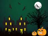 Abstract halloween background