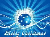 Modré vektor vánoční koule, ilustrace
