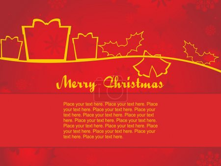 Background for christmas day