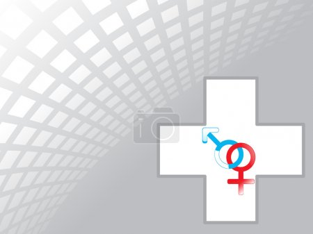 Symbol male and female genders