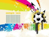 Texture background with football