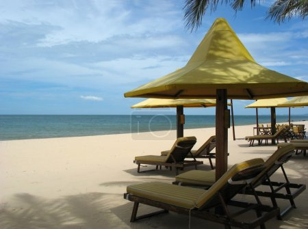 Resort Mui Ne, beach rest by the South China Sea...