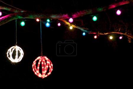 Photo pour Joyeuses fêtes avec espace copie au bas - image libre de droit
