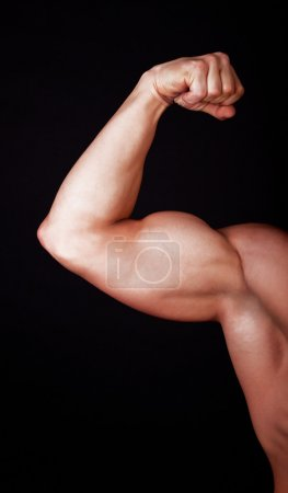 Photo for Close up of man biceps - Royalty Free Image