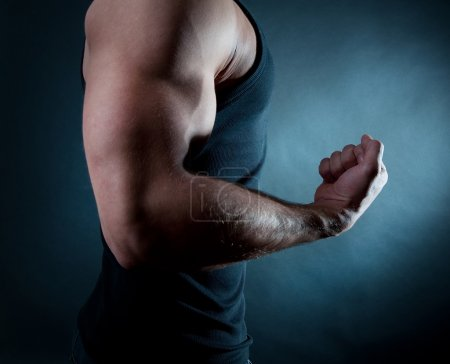 Photo for Picture of biceps - Royalty Free Image