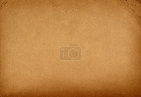 Photo pour Vieux papier texturé brun - image libre de droit