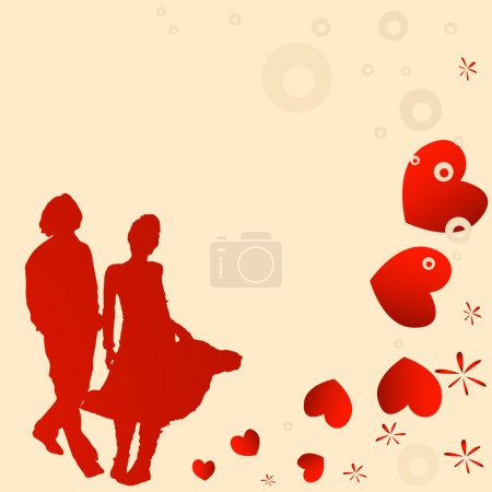 Couple, valentine design