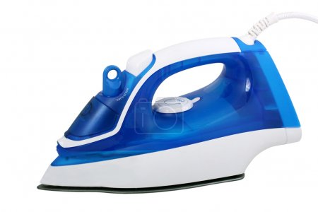 Photo for Electric steam iron isolated on white background - Royalty Free Image