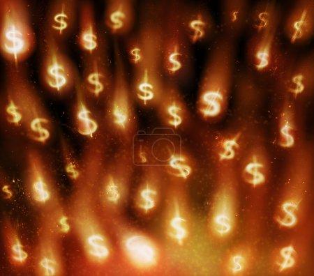 Currency rain