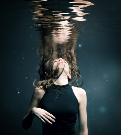 Photo for Girl under water - Royalty Free Image