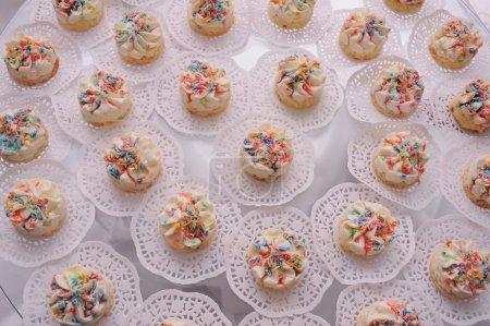 kleine cremige Kuchen