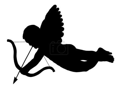 Photo pour Symbole de l'ange Cupidon - image libre de droit