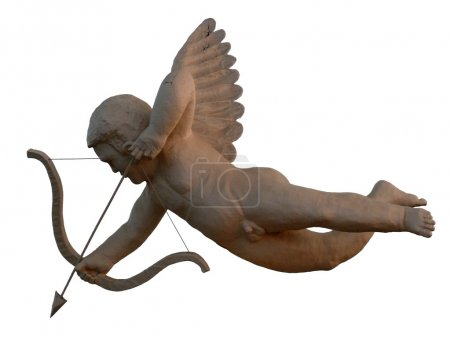 Statue of Cupid angel