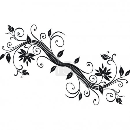 Flower design.Vector image