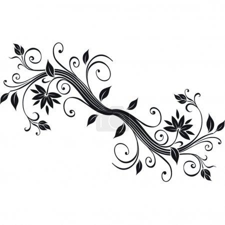 Illustration pour Conception de fleurs.Image vectorielle - image libre de droit