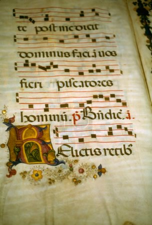 Illuminated manuscript,