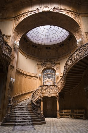 Photo for Stairs in the Lviv ancient casino - Royalty Free Image