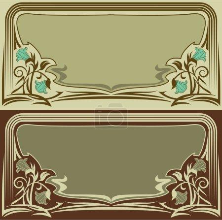 Illustration pour Eléments de design de style rétro, enregistrés en eps8 . - image libre de droit