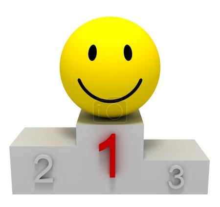 Smile of Winner