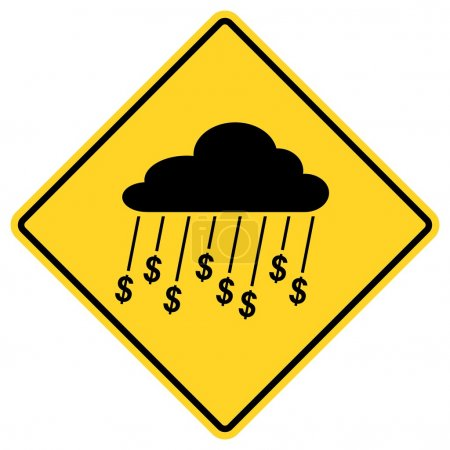 Rain Of Money Sign