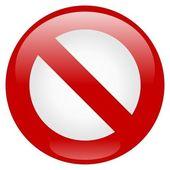 Zákaz ikona