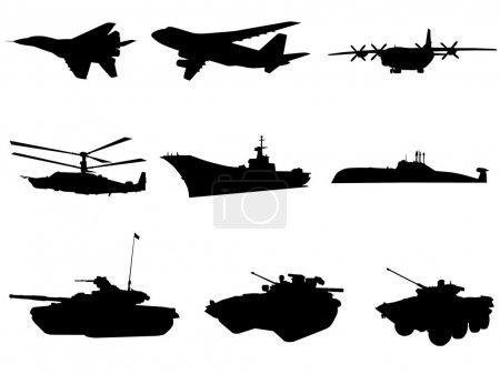 Illustration pour Techniques militaires - image libre de droit
