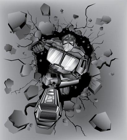 Robot crash