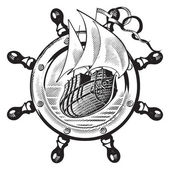 Hajó  wheel_engraving