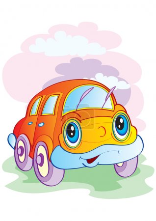 The cheerful car