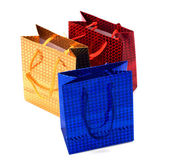 Shiny paper gift bags