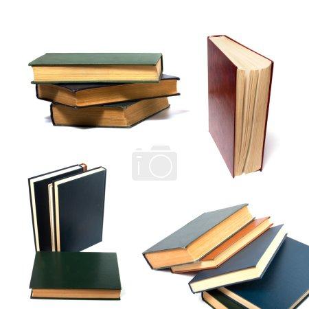 Photo pour Livres isolés sur blanc - image libre de droit