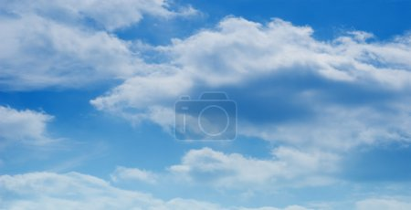 Foto de Nube azul cielo fondo - Imagen libre de derechos