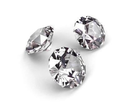 Three diamonds