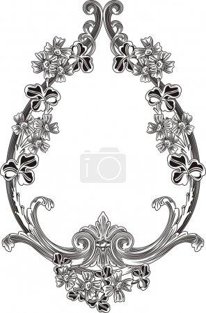 Illustration for Vector illustration of Laurel Wreath - Royalty Free Image