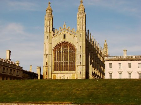 Chapel of Kings College from Cambridge