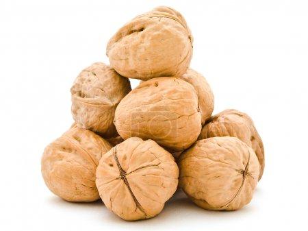 Walnuts pyramid