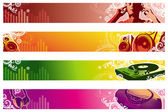 Music web banners