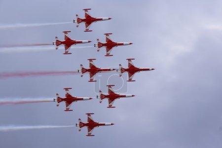 Aerobatics team at airshow