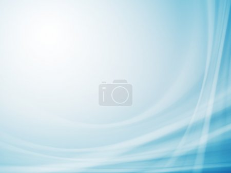 Photo for Blue abstract background for your business artwork - Royalty Free Image