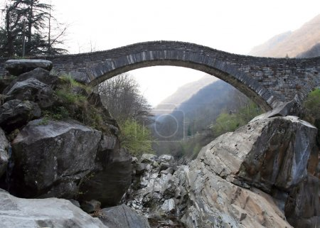 Ancient arch bridge