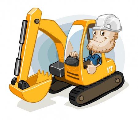 Excavator with Labor