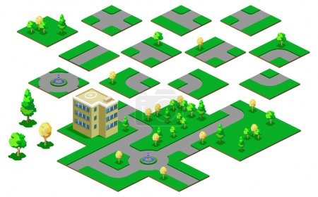 Map Isometric