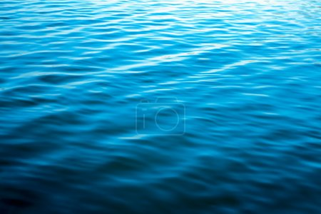 Photo for Blue water surface - Royalty Free Image
