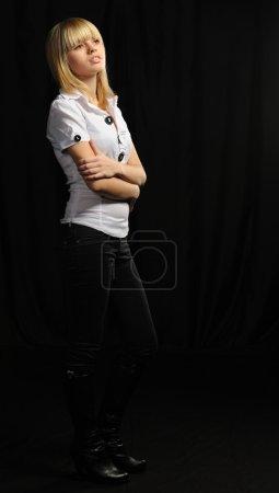 Porträt des jungen attraktiven Mädchens