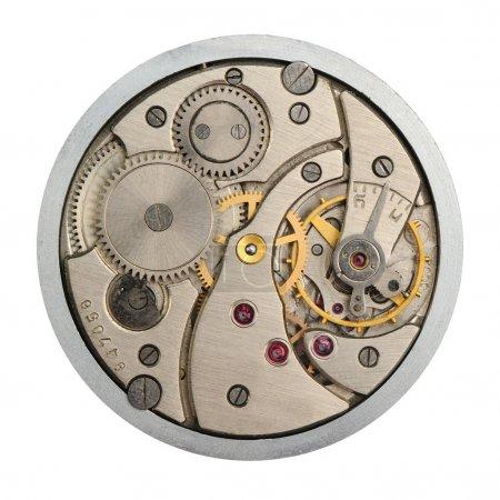 Le mécanisme des heures analogiques