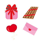 Set of icons for st Valentine day
