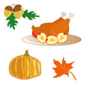 Icons for Thanksgiving Day