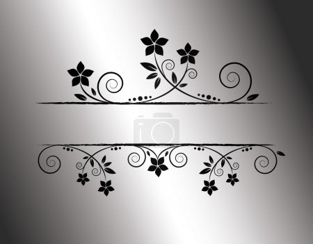 Illustration for Floral frame - Royalty Free Image