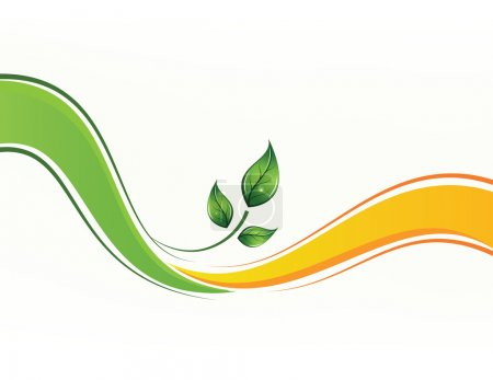 Eco vector background
